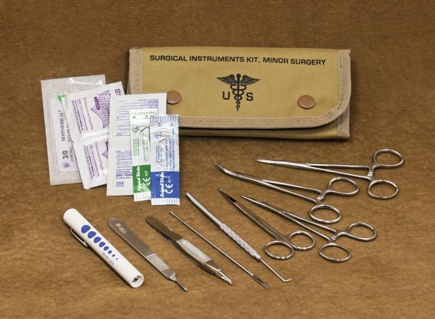 Set chirurgický  US 12 kusù TAN