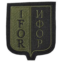 Nášivka IFOR - OLIV