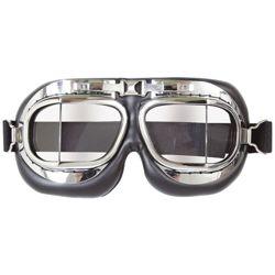 Brýle letecké mil-com CHROMOVÉ