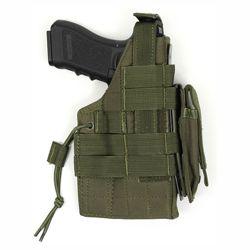 Pouzdro pistolové MOLLE glock  oboustranné ZELENÉ