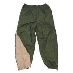 Kalhoty GRIFFON oboustranné ZELENÉ/PÍSKOVÉ