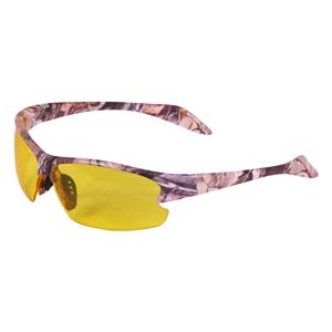 Brýle støelecké 2 skla s pouzdrem FOREST CAMO HNÌDÉ