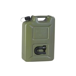 Kanystr palivový plastový s nálevkou 20 litrù ZELENÝ