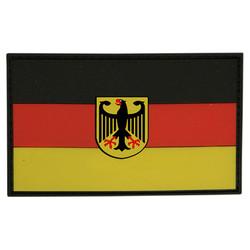 Nášivka vlajka NÌMECKO s orlicí plast BAREVNÁ velcro