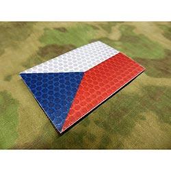 Nášivka IFF IR (infrared) vlajka Èeská republika BAREVNÁ
