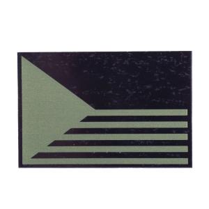 Nášivka IFF IR (infrared) vlajka Èeská republika pruhy ZELENÁ