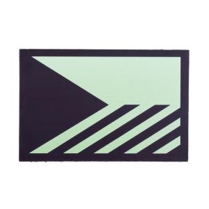 Nášivka IFF IR (infrared) vlajka pruhy Èeská republika ZELENÁ