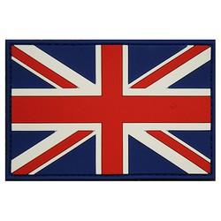 Nášivka vlajka VELKÁ BRITÁNIE plast velcro velká BAREVNÁ