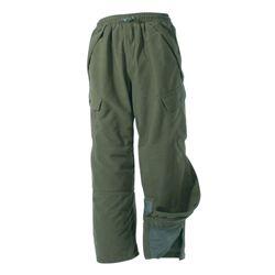 Kalhoty HUNTER polyester ZELENÉ