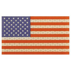 doprodej Nášivka malá velcro US vlajka barevná IFF