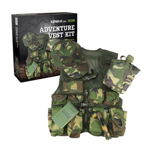 Set JUNIOR dìtský ADVENTURE VEST KIT DPM