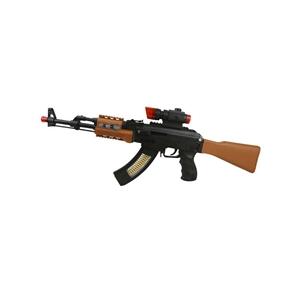 Hraèka puška AK-47 plastová 62 cm