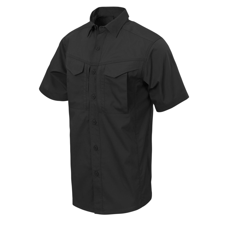 Košile DEFENDER Mk2 kratký rukáv ÈERNÁ