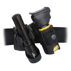 Pouzdro LHU-04 pro svítilnu a sprej rotaèní plastové klip