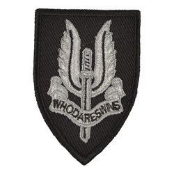 Nášivka SAS støíbrná