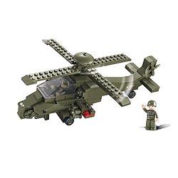 Stavebnice útoèného vrtulníku ATTACK G7