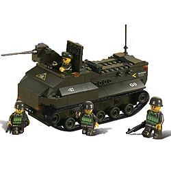 Stavebnice obojživelného tanku