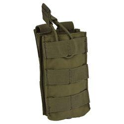 Sumka MOLLE na zásobník M16 otevøená ZELENÁ