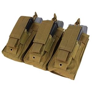 Sumka MOLLE na zásobníky 3xM16 3xM9 COYOTE BROWN