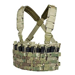Vesta taktická RAPID ASSAULT CHEST RIG MULTICAM®