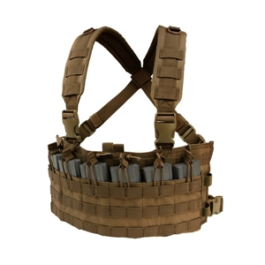 Vesta taktická RAPID ASSAULT CHEST RIG COYOTE BROWN