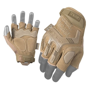 Rukavice Mechanix M-Pact BEZPRSTÉ COYOTE