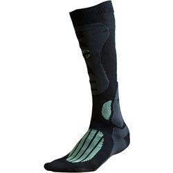 Ponožky BATAC Mission - podkolenka ÈERNO/ZELENÉ