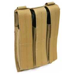 doprodej Sumka MOLLE TRIPLE na zásobníky MP5 KHAKI