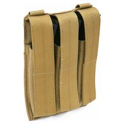 Sumka MOLLE TRIPLE na zásobníky MP5 KHAKI - zvìtšit obrázek