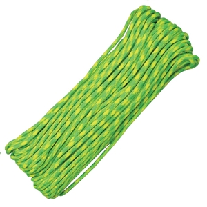 Šòùra PARACORD nylon 550LB 30m 4mm Lemon-Lime
