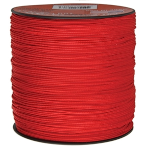Šòùra MINI PARACORD nylon 1,12mm/300m ÈERVENÁ