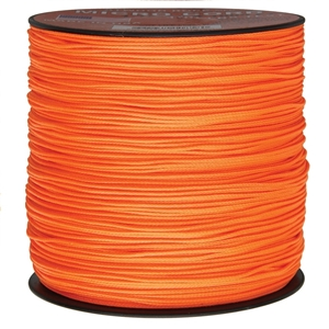Šòùra MINI PARACORD nylon 1,12mm / 300m NEON ORANGE