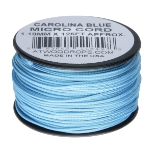 Šòùra MINI PARACORD nylon 1,18mm/38 m MODRÁ SVÌTLÁ