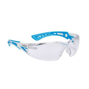 Brýle ochranné RUSH  SMALL MODRÉ ÈIRÉ