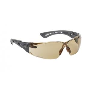 Brýle ochranné RUSH  hnìdá skla