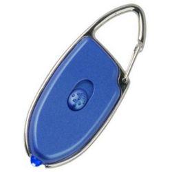 Svítilna klíèenka EXPLORER modré svìtlo plastová MODRÁ