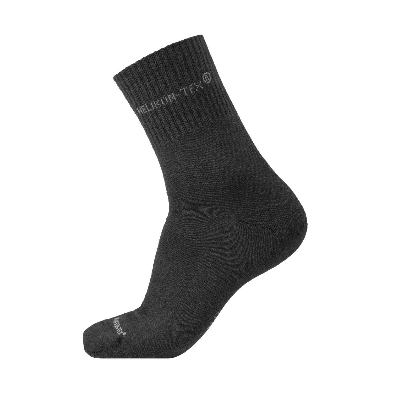 Ponožky ALL ROUND set 3ks ÈERNÉ