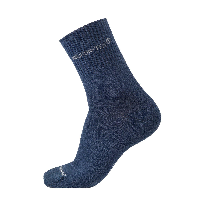 Ponožky ALL ROUND set 3ks NAVY BLUE