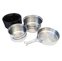 Jídelní nádobí tøídílné nerezové TRAPPER