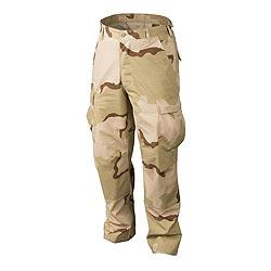 Kalhoty BDU rip-stop 3-COL DESERT