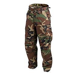 Kalhoty BDU rip-stop WOODLAND