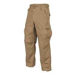 Kalhoty BDU rip-stop COYOTE