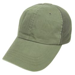 Èepice TEAM CAP MESH baseballová ZELENÁ