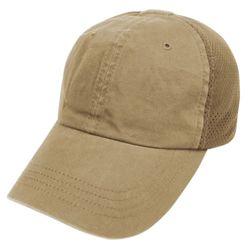 Èepice TEAM CAP MESH baseballová TAN