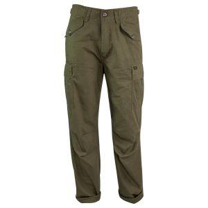 Kalhoty M65 MILITARY STYLE rip-stop ZELENÉ - zvìtšit obrázek