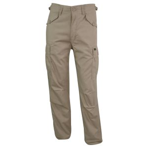 Kalhoty M65 MILITARY STYLE rip-stop KHAKI - zvìtšit obrázek
