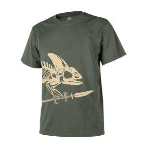 Triko skelet chameleona ZELENÉ - zvìtšit obrázek
