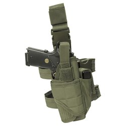 Pouzdro pistolové stehenní TORNADO ZELENÉ