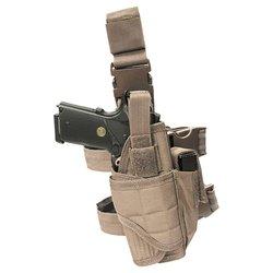 Pouzdro pistolové stehenní TORNADO TAN