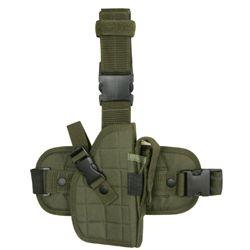 Pouzdro pistolové stehenní LEG HOLSTER ZELENÉ